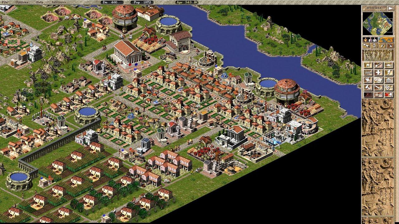 Caesar Building Game