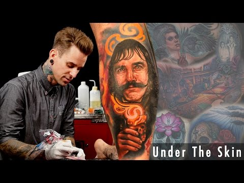 London Reese - Tattoos Bill the Butcher - Under the Skin
