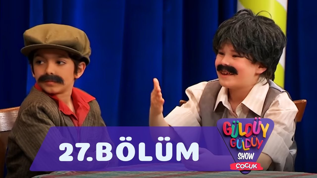 Güldüy Güldüy Show Çocuk 27.Bölüm (Tek Parça Full HD)