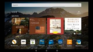 How to add 3rd party launchers in Amazon's Fire tablets