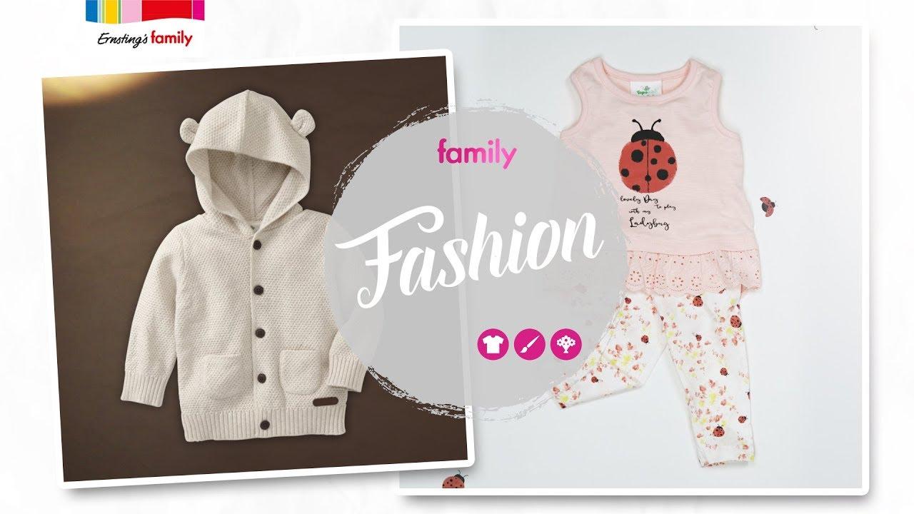 Family Tipps Baby Ernsting S Family Fashion Youtube