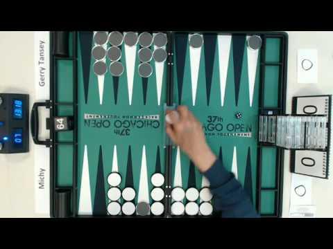 Backgammon Olympiad -- Michy vs. GerryTansey -- Final -- Best 3 -- 7pts