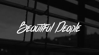 Gambar cover Ed Sheeran - Beautiful People (Lyrics) feat. Khalid