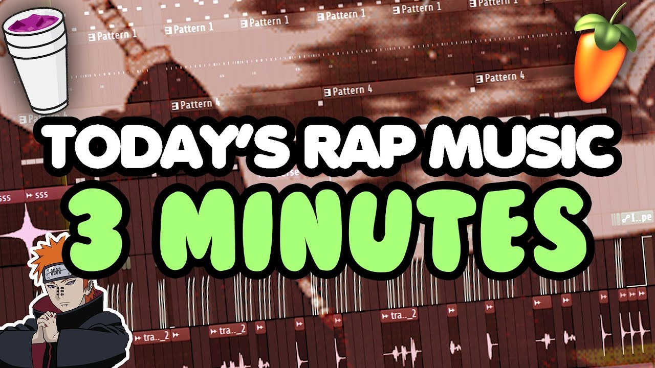 Todays Rap Music In 3 Minutes Youtube