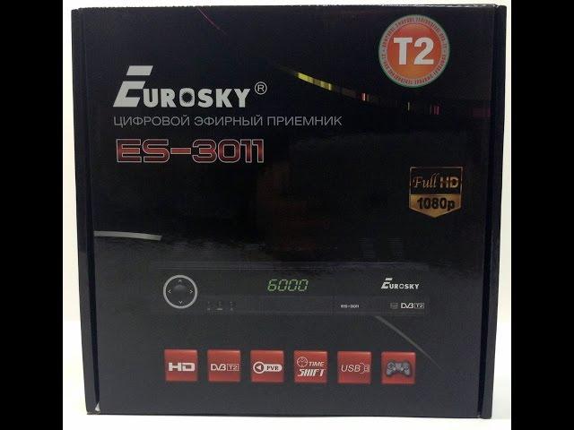 Видео обзор Eurosky ES-3011