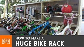 Bike Rack (scooters and skateboards too)  // How-To