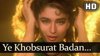 Ye Khoobsurat Badan - Madhuri Dixit - Anil Kapoor - Rajkumar - Hindi Song - Laxmikant Pyarelal