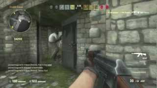 Counter Strike GO PS3 Move Gameplay