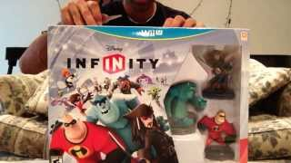 Disney Infinity (Wii U) Launch Day Unboxing