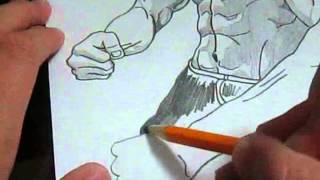 Bruce Lee Speed-Drawing