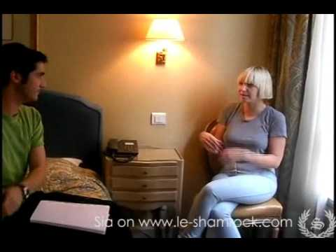 Sia interview with Shamrock 2010