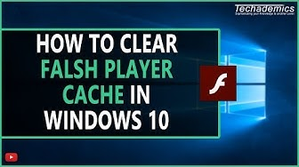 How To Clear Flash Player Cache