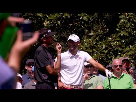 A Day With Champions: Wesley Bryan Masters Diary - YouTube