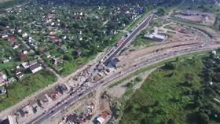 Транспортный обход Красного Села Ивангородский пр. август 2017