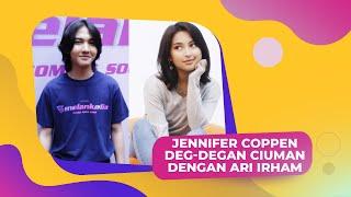 Jennifer Coppen Akui Deg-Degan Ciuman Dengan Ari Irham Di Film GENERASI 90-AN: MELANKOLIA