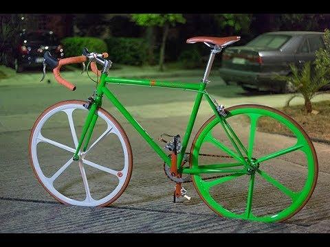 Green Fury (Sun anamorphic & fixie)