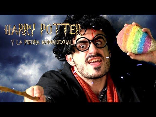 HARRY POTTER  Y LA PIEDRA HOMOSEXUAL