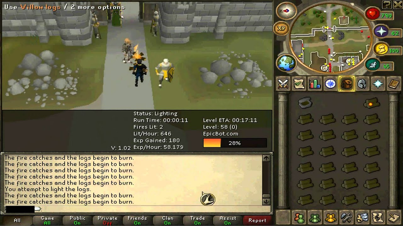 Runescape auto firemaking free download