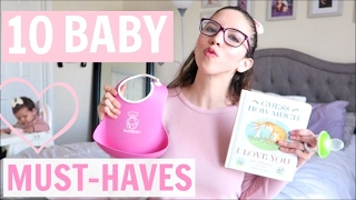 TOP 10 BABY MUST-HAVES 6-12 MONTHS 💕