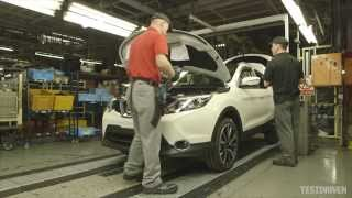 2014 Nissan Qashqai Production