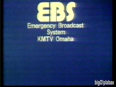 KMTV 3 Omaha - EBS Test (1987)