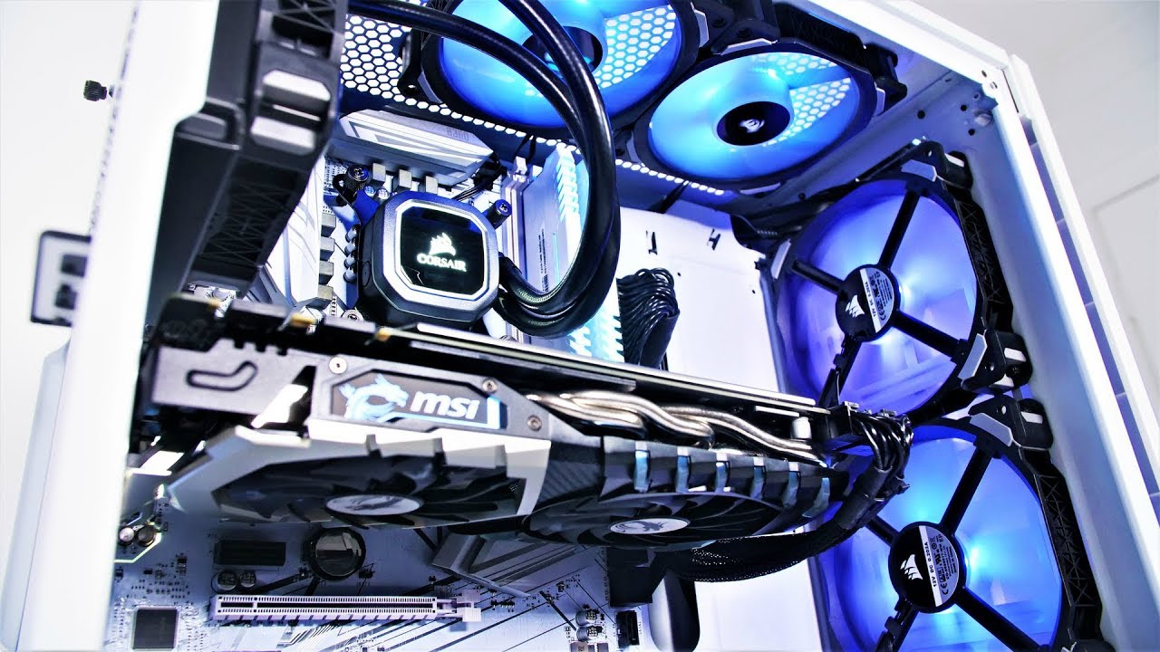 how to build a pc 2018