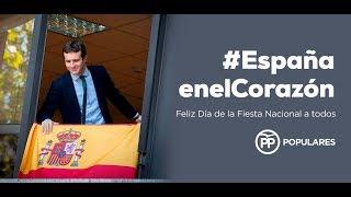 Feliz Día de la Fiesta Nacional #EspañaEnElCorazón