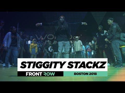 StiggityStackz | FRONTROW | Judges Showcase | World Of Dance Boston 2018 | #WODBOS18