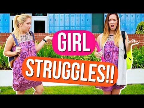 Girl STRUGGLES at School! Back to School! Alisha Marie