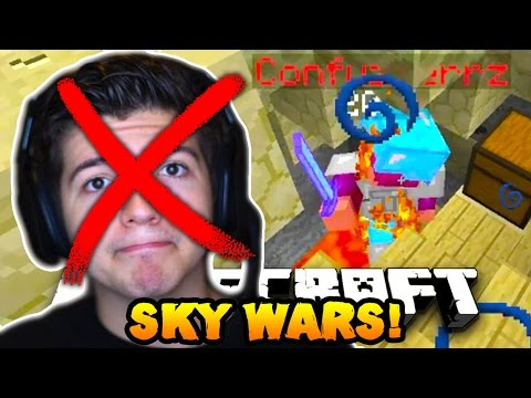 "Minecraft SOLO SKY WARS #10 ""AM I HACKING?..."" w/PrestonPlayz"