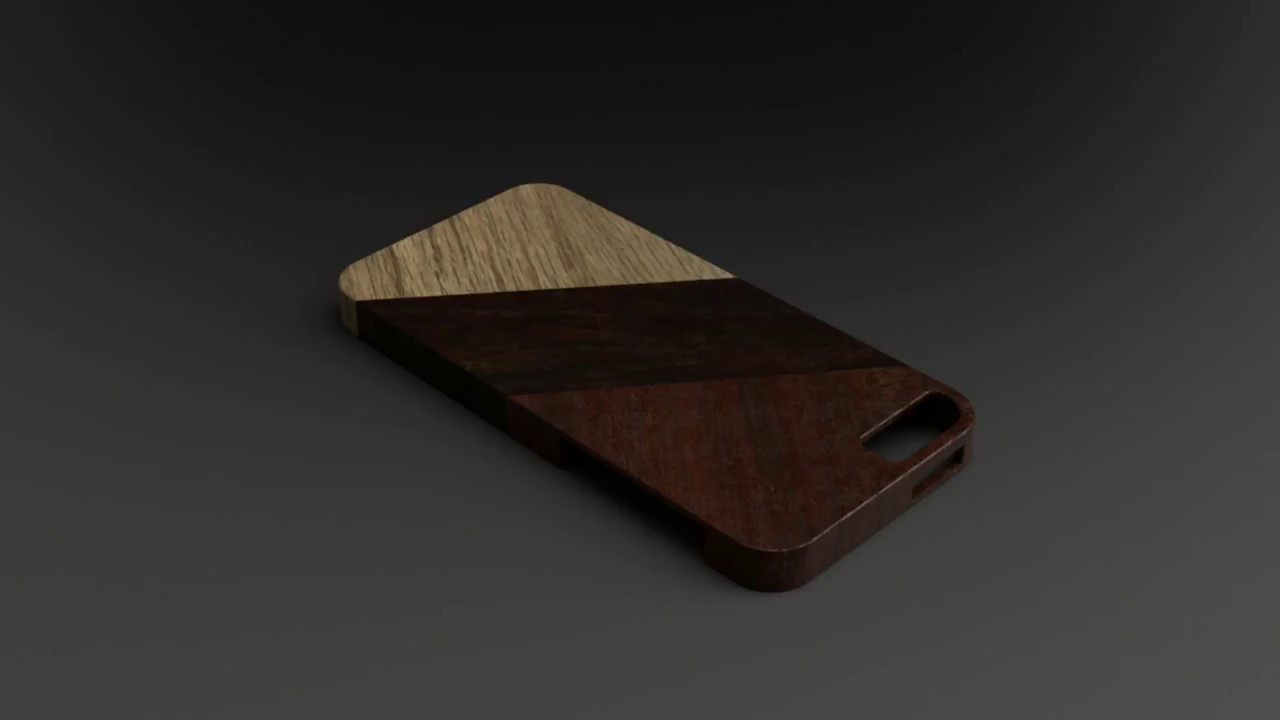 iPhone 5 case design & rendering with Fusion 360 1/2