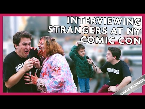 INTERVIEWING STRANGERS AT COMIC CON - Chris Klemens - 동영상