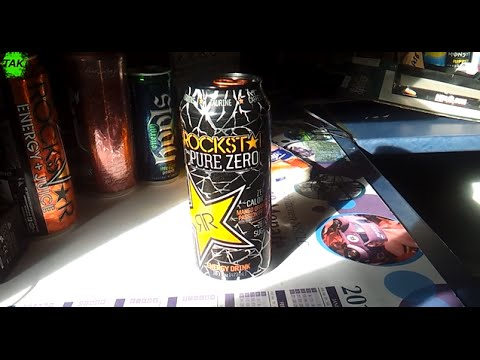 Let´s Drink: Rockstar Pure Zero Mango (USA)