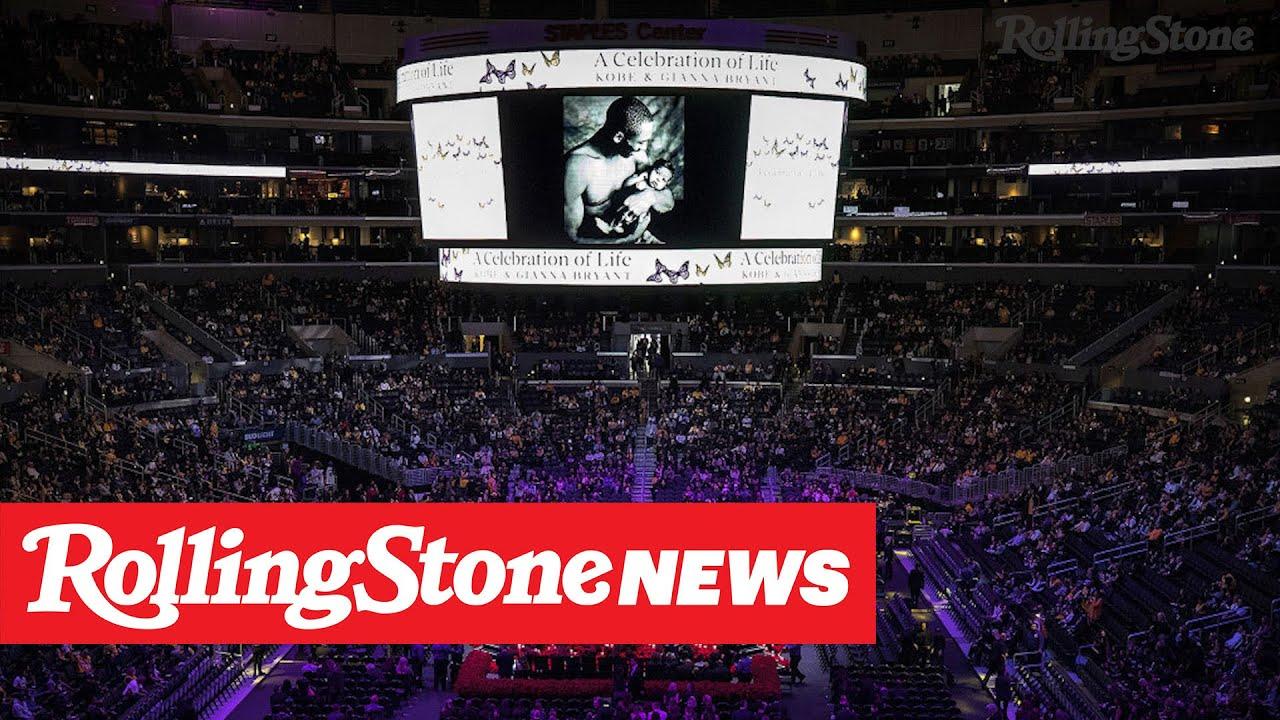 Beyoncé Opens Kobe Bryant Memorial Service | RS News 2/25/20