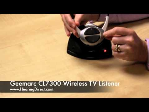 geemarc cl7300  Geemarc CL7300 Wireless TV Listener Review By HearingDirect.com ...