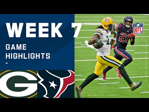 Packers vs. Texans Week 7 Highlights | NFL 2020