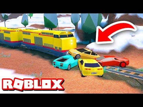 STOPPING THE TRAIN!!   Roblox Jailbreak Prank