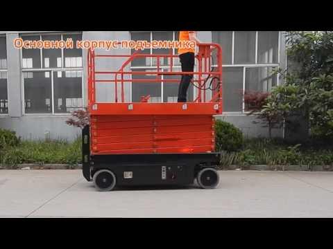 Самоходный подъемник ножничного типа GROST® SPX Серия F3