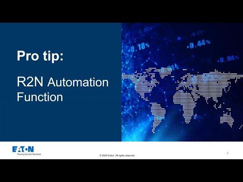 YFA ProTips: R2N Automation Function