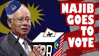 NAJIB GOES TO VOTE (Pokemon)