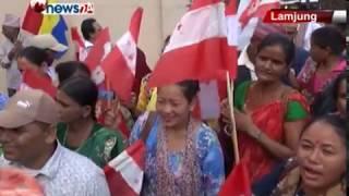 लमजुङमा लोकतान्त्रिक र वाम गठबन्धनबीच तीब्र प्रतिष्पर्धाको अवस्था – NEWS24 TV