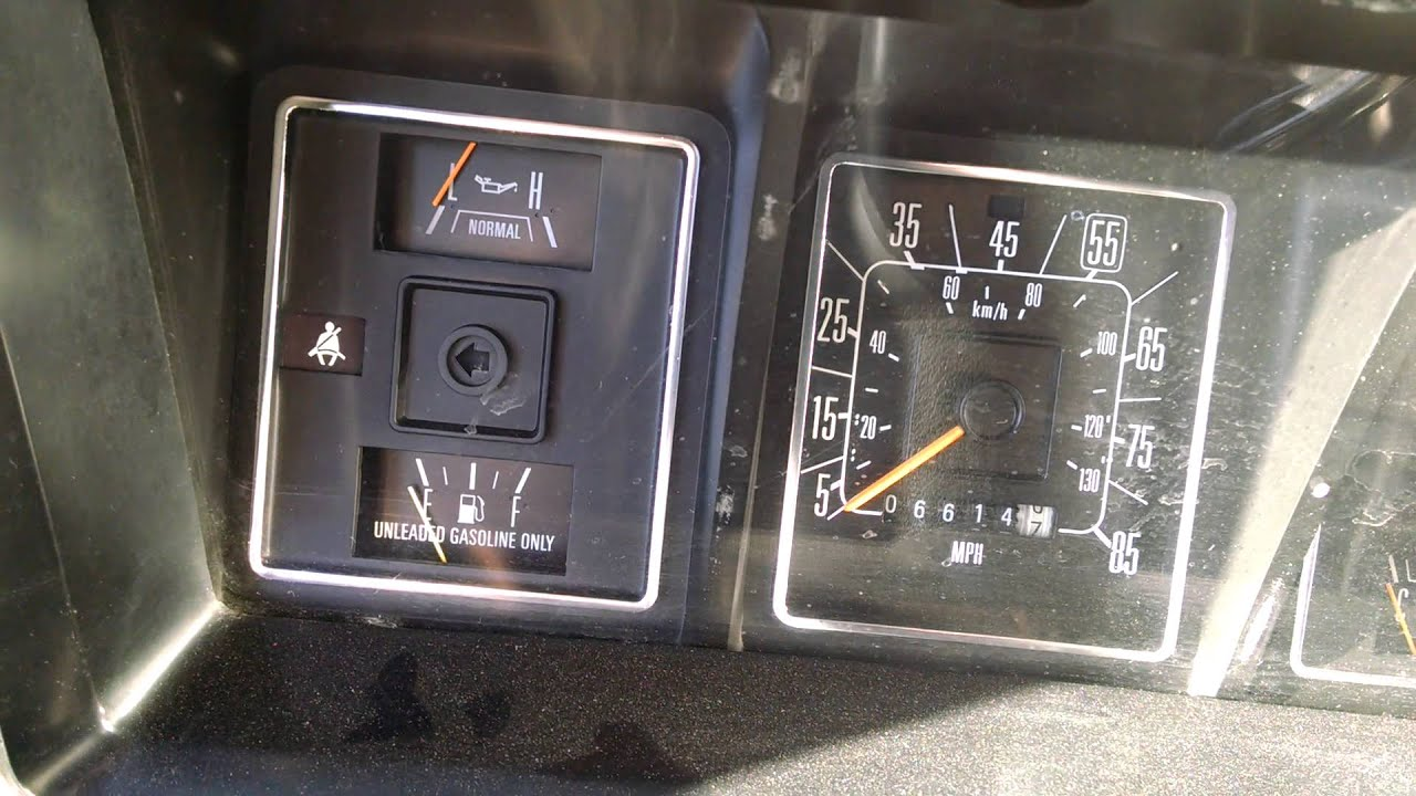 Ford F350 Fuse Panel Diagram Tibia And Fibula Blank 1988 E-350 Fuel Problems 460ci Efi 7.5l - Youtube