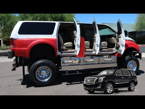 This Ford F-650 SUV Will Make Your Escalade Look Like A Toy