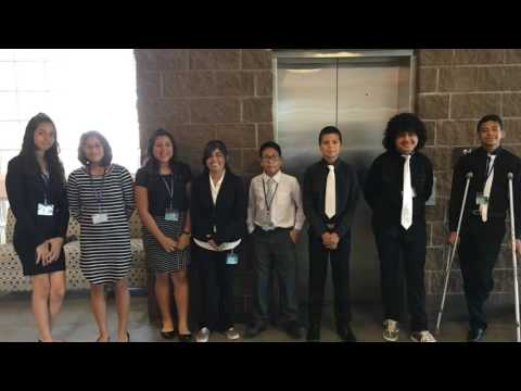 Chaparral Middle School competed in the Best Robotics competition at NMSU