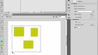 Группировка объектов в Adobe Flash CS4 (21/46)