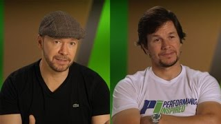 EXCLUSIVE: Mark and Donnie Wahlberg Compete Against Their Brothers For the Title of 'Favorite Son' Video