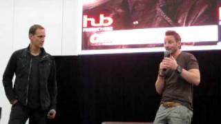 Christopher Heyerdahl & Ryan Robbins talk Stargate & Amanda Tapping (Armageddon 2011)