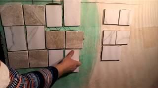 тест  на плиточный клей  и грунтовку