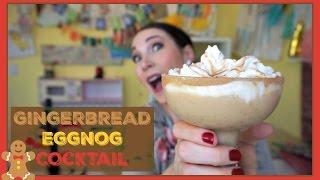 GINGERBREAD EGGNOG COCKTAIL | Pinterest Drink #125