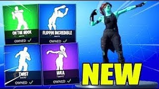 *NEW* FORTNITE LEAKED EMOTES/DANCES (Hula, Twist, On The Hook, Flippin Incredible) Fortnite